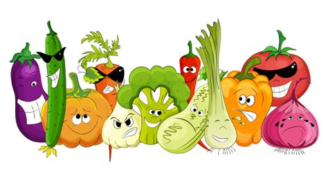 Vegetable Characters
