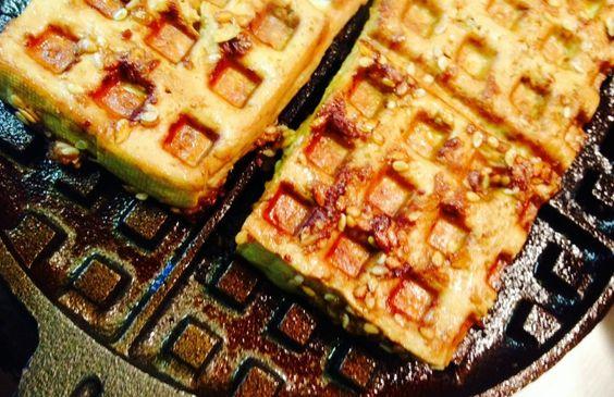 tofu waffle