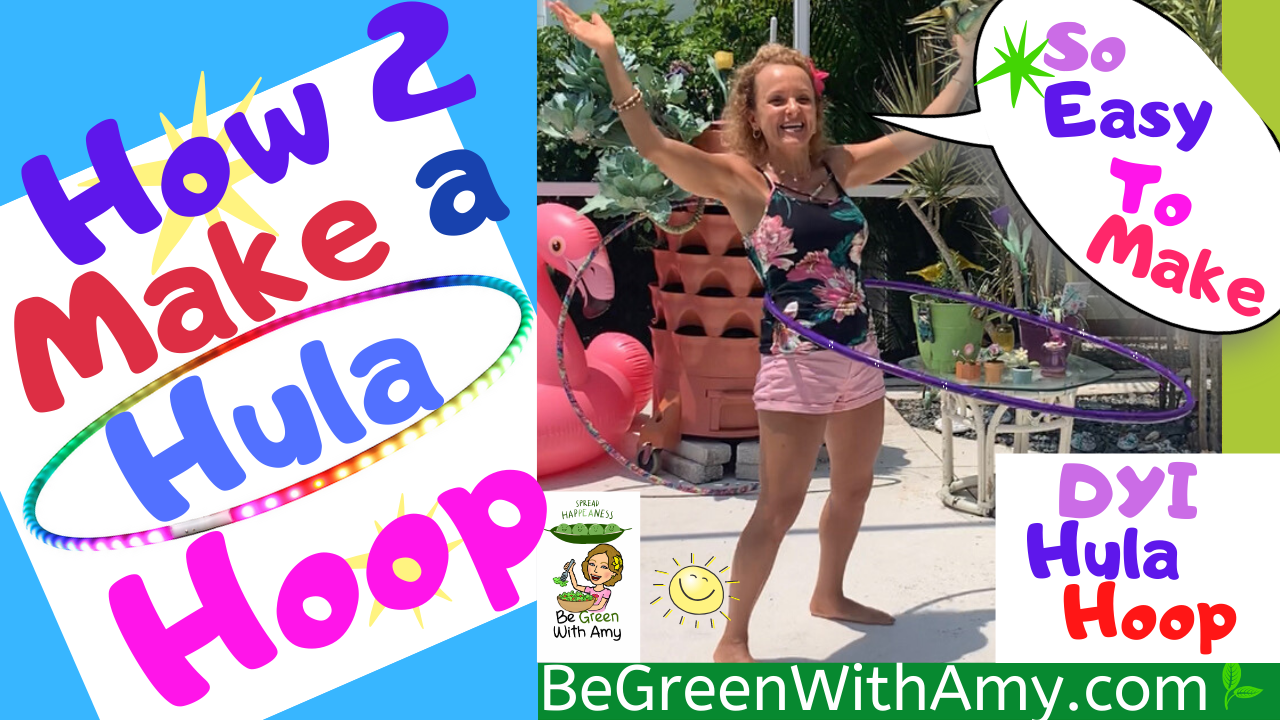 How to Make a Hula Hoop YouTube Thumbnail